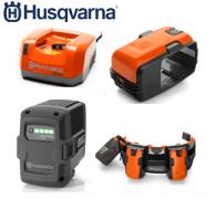 Batteries et chargeurs HUSQVARNA