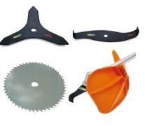 Couteaux et capots debroussailleuse