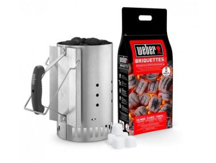 Accessoires Weber Kit cheminée d'allumage