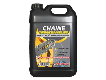 Bidon d'huile de chaîne de 5L