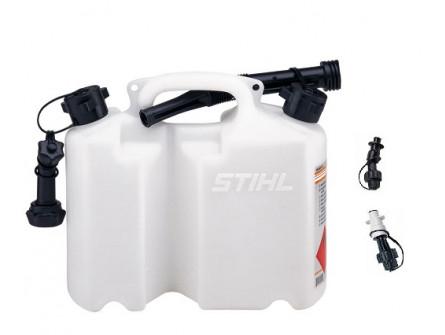 Bidon Combine Stihl Transparent Standard avec becs verseurs