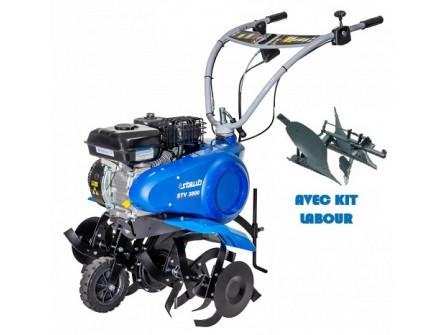 Motobineuse STAUB STV 3800 avec kit labour brabant