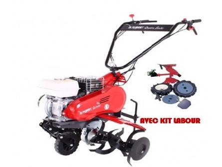 Motoculteur PUBERT QUATRO SENIOR 60 HD avec kit labour
