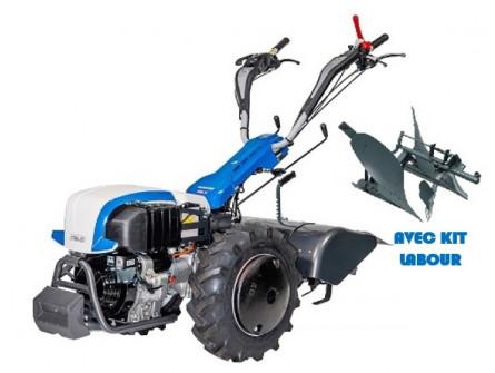 Motoculteur Thermique STAUB Rancher D10 S DEL avec Kit Labour