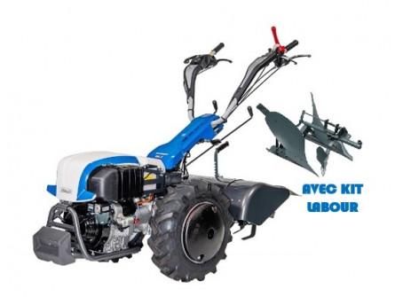 Motoculteur Thermique STAUB Rancher D10 S avec Kit Labour