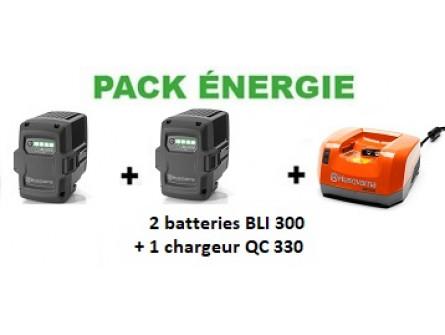 Pack Batterie Energie +  Husqvarna