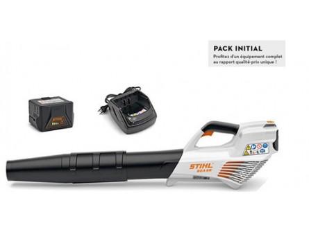 Souffleur à main STIHL BGA 56 Pack INITIAL avec avec AK 20 + AL 101