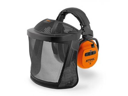 STIHL Visière de protection Dynamic BT avec protège oreilles (Bluetooth)
