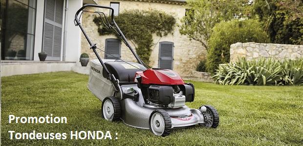 Promotion Tondeuses HONDA