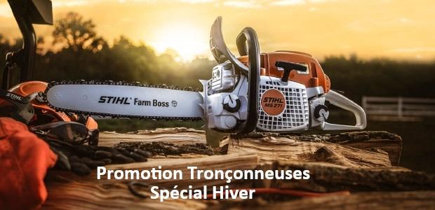 Promotion tronconneuse