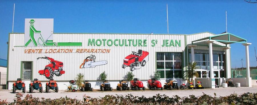 Motoculture St Jean - Devanture du magasin.